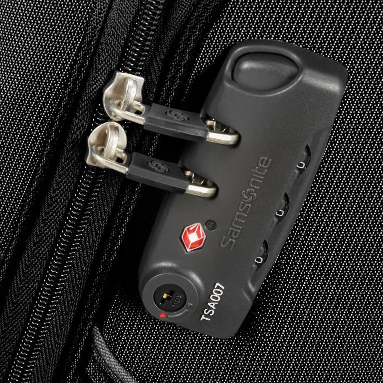 Samsonite B-Lite Fresh 78149 Spinner 55 Black, Farbe: schwarz, Marke: Samsonite, Abmessungen in cm: 55x40x20, Bild 5 von 5