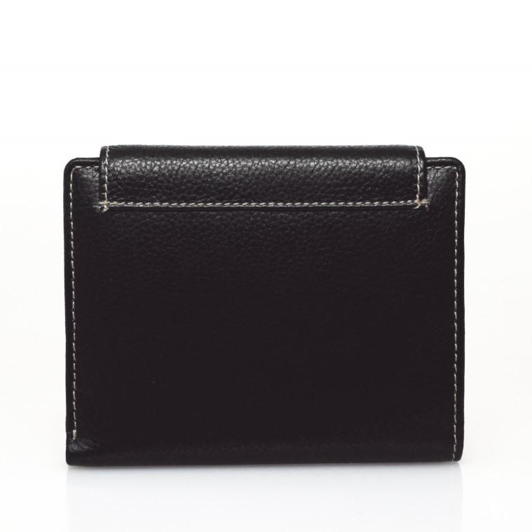 HJP Geldbörse Tinta Schwarz, Farbe: schwarz, Marke: Hausfelder, Abmessungen in cm: 13.0x10.5x2.0, Bild 2 von 6