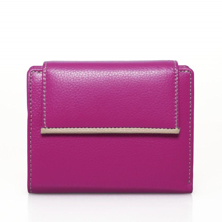 HJP Geldbörse Tinta Fuchsia, Farbe: rosa/pink, Marke: Hausfelder, Abmessungen in cm: 13.0x10.5x2.0, Bild 1 von 6