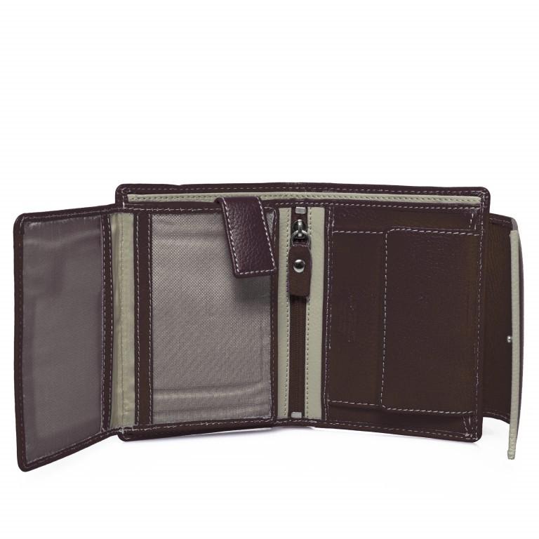 HJP Geldbörse Tinta Braun, Farbe: braun, Marke: Hausfelder, Abmessungen in cm: 13.0x10.5x2.0, Bild 4 von 7
