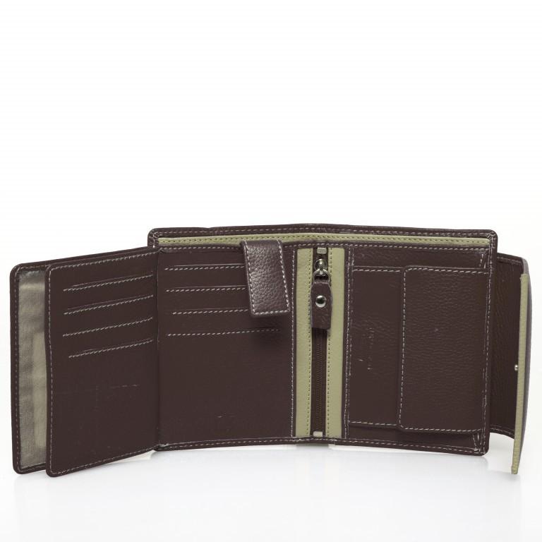 HJP Geldbörse Tinta Braun, Farbe: braun, Marke: Hausfelder, Abmessungen in cm: 13.0x10.5x2.0, Bild 5 von 7