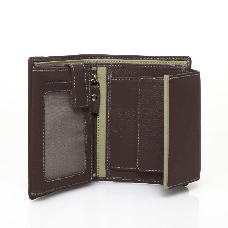 HJP Geldbörse Tinta Braun, Farbe: braun, Marke: Hausfelder, Abmessungen in cm: 13.0x10.5x2.0, Bild 3 von 7