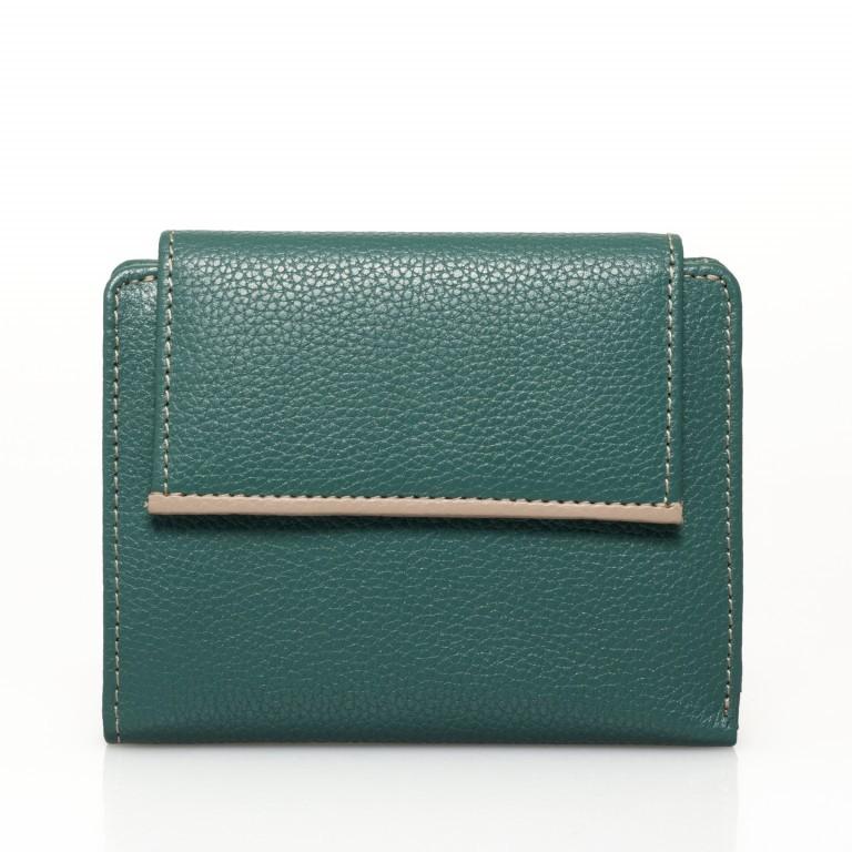 HJP Geldbörse Tinta Grün, Farbe: grün/oliv, Marke: Hausfelder, Abmessungen in cm: 13.0x10.5x2.0, Bild 1 von 6