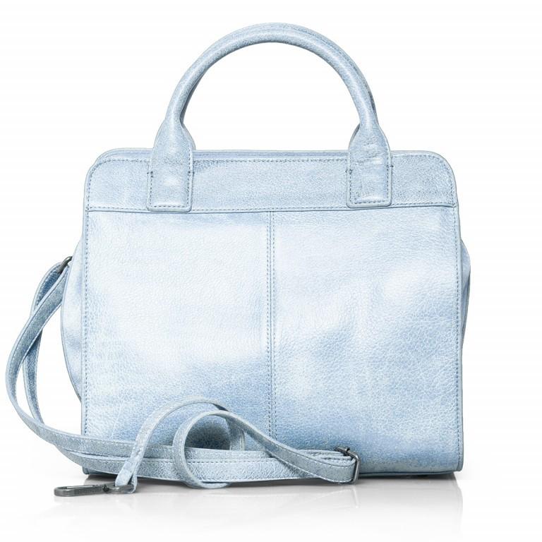 FREDsBRUDER Perfect Match 67-439-24 Shopper Leder Powder Blue, Farbe: blau/petrol, Marke: FredsBruder, Abmessungen in cm: 30.0x28.0x14.0, Bild 4 von 4