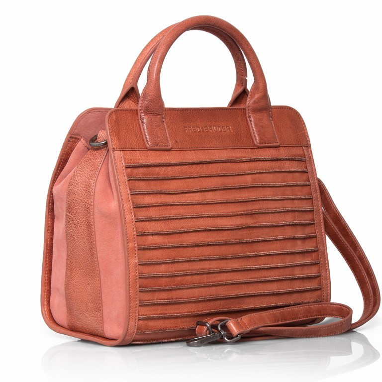 FREDsBRUDER Perfect Match 67-439-30 Shopper Leder Dusty Blush, Farbe: rosa/pink, Marke: FredsBruder, Abmessungen in cm: 30.0x28.0x14.0, Bild 2 von 4