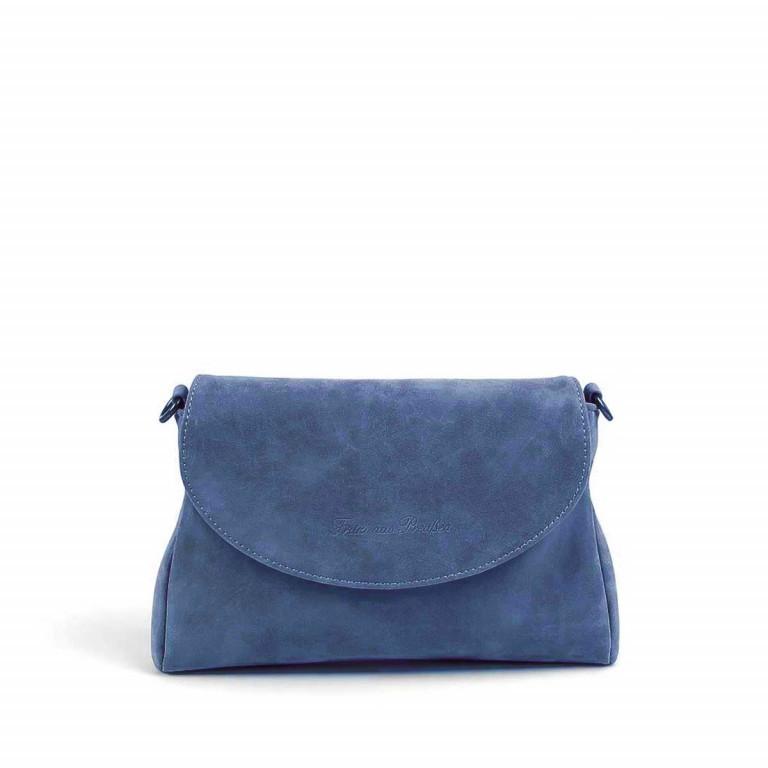 Fritzi aus Preußen Vintage Nana Tasche Synthetik Atlantic, Farbe: blau/petrol, Marke: Fritzi aus Preußen, Abmessungen in cm: 25.0x17.0x3.0, Bild 1 von 1