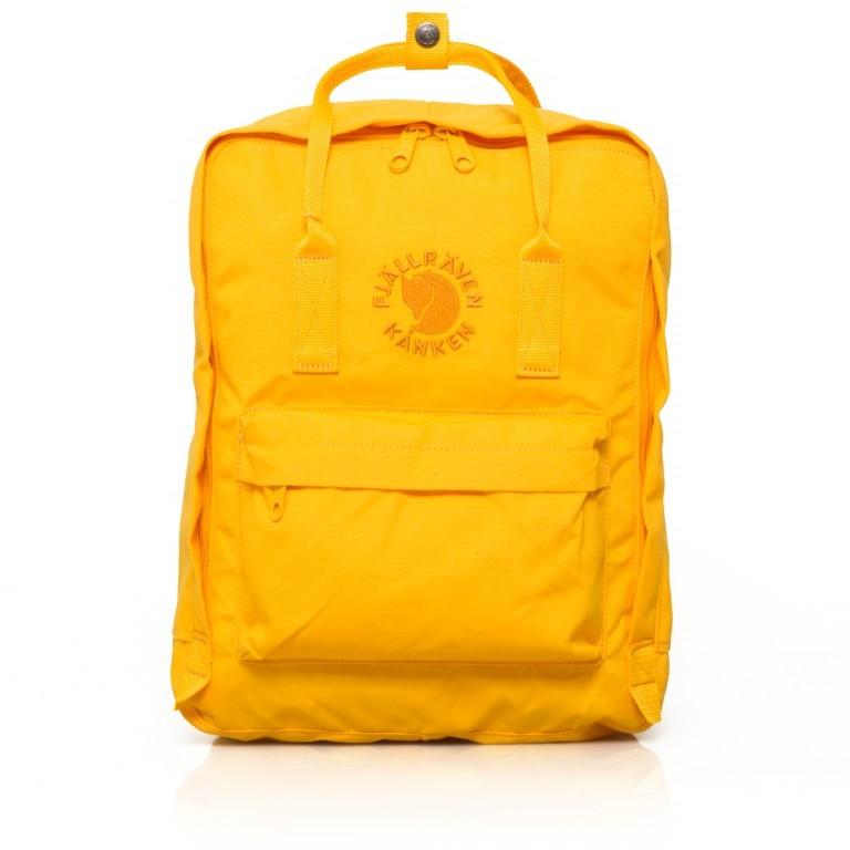 Fjällräven Re-Kånken Rucksack Sunflower Yellow, Farbe: gelb, Marke: Fjällräven, EAN: 7323450260187, Abmessungen in cm: 27.0x38.0x13.0, Bild 1 von 5