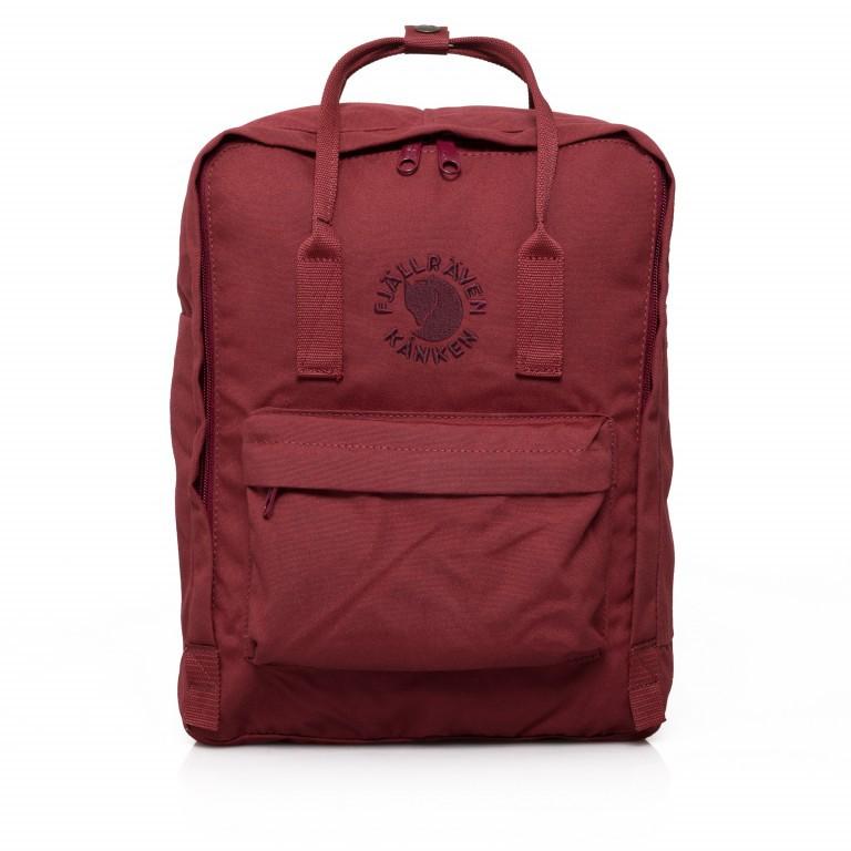 Fjällräven Re-Kånken Rucksack Ox Red, Farbe: rot/weinrot, Marke: Fjällräven, EAN: 7323450260125, Abmessungen in cm: 27.0x38.0x13.0, Bild 1 von 5