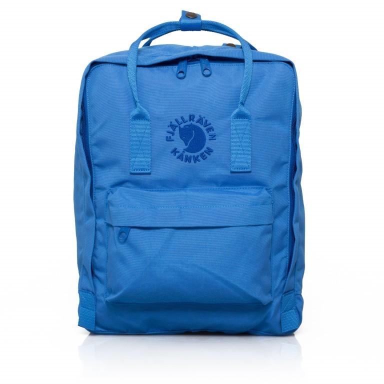 Fjällräven Re-Kånken Rucksack UN Blue, Farbe: blau/petrol, Marke: Fjällräven, EAN: 7323450260132, Abmessungen in cm: 27.0x38.0x13.0, Bild 1 von 5