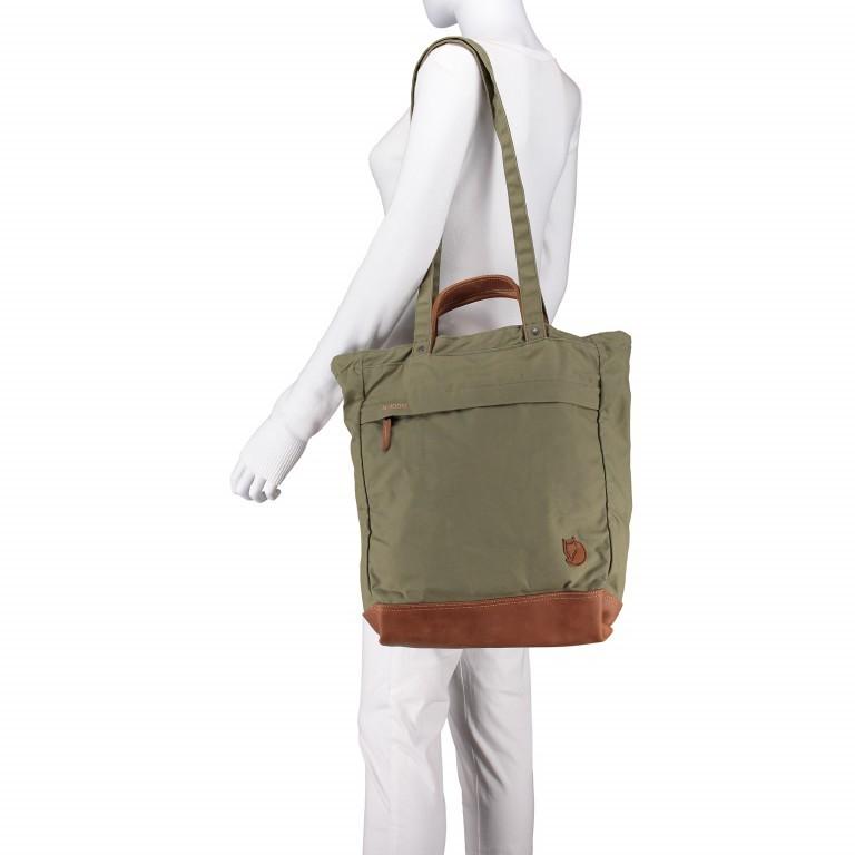 Fjällräven Totepack No.2 Shopper Weinrot, Farbe: rot/weinrot, Marke: Fjällräven, EAN: 7323450091132, Abmessungen in cm: 33.0x42.0x12.0, Bild 4 von 5