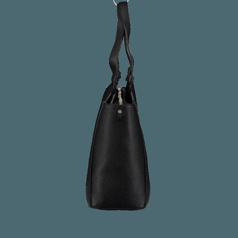Marc Cain Handtasche HBTJ24L02-900 Black, Farbe: schwarz, Marke: Marc Cain, EAN: 4056255525160, Abmessungen in cm: 32.0x27.0x13.0, Bild 2 von 5