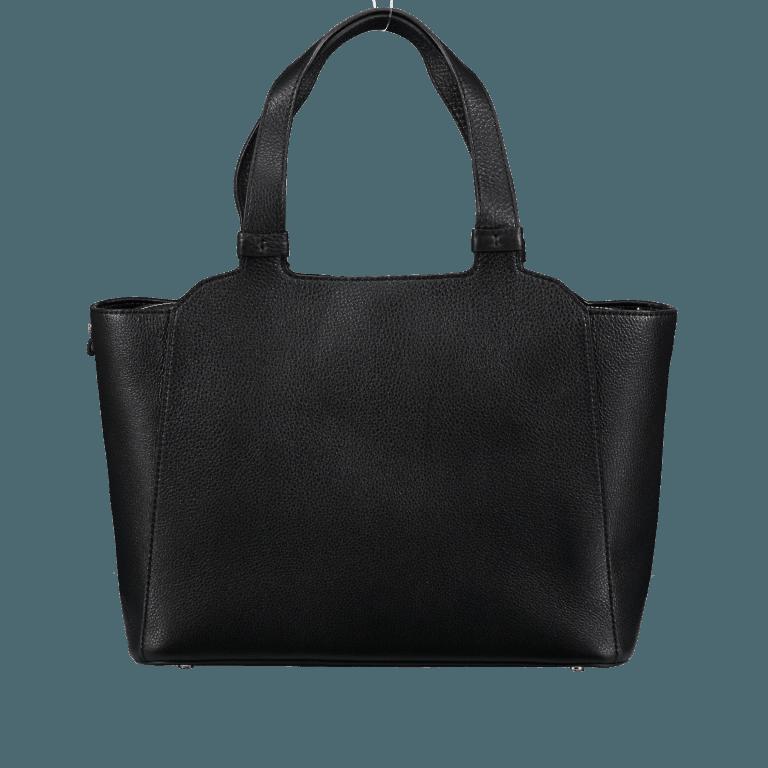 Marc Cain Handtasche HBTJ24L02-900 Black, Farbe: schwarz, Marke: Marc Cain, EAN: 4056255525160, Abmessungen in cm: 32.0x27.0x13.0, Bild 5 von 5