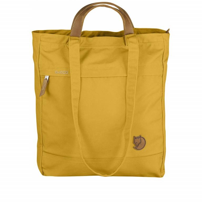 Fjällräven Totepack No.1 Shopper Ochre, Farbe: gelb, Marke: Fjällräven, EAN: 7392158950980, Abmessungen in cm: 39.0x32.0x11.0, Bild 1 von 5