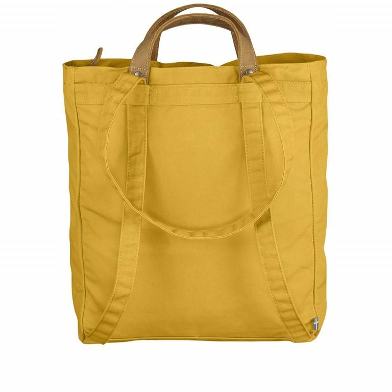 Fjällräven Totepack No.1 Shopper Ochre, Farbe: gelb, Marke: Fjällräven, EAN: 7392158950980, Abmessungen in cm: 39.0x32.0x11.0, Bild 5 von 5