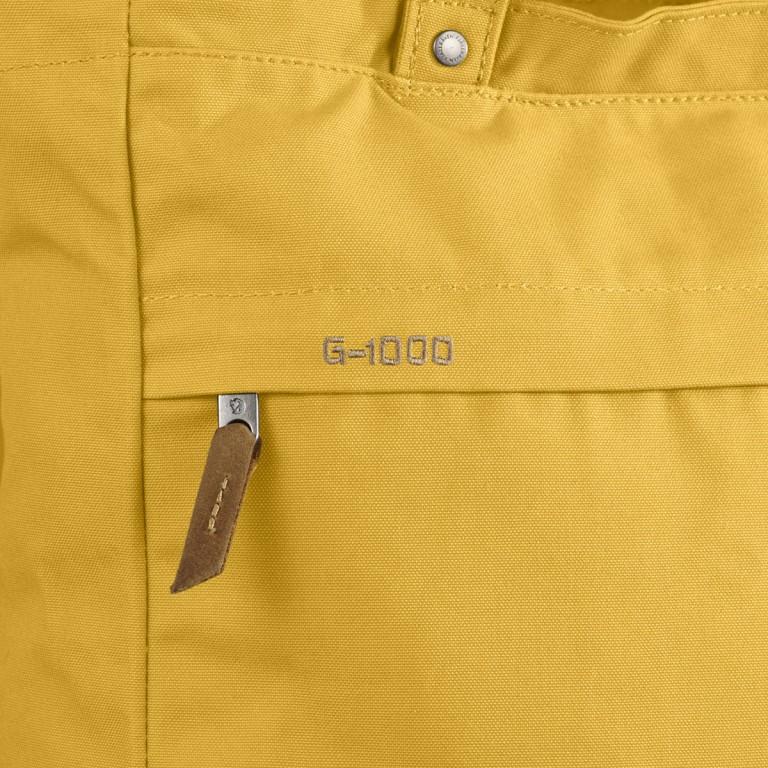 Fjällräven Totepack No.1 Shopper Ochre, Farbe: gelb, Marke: Fjällräven, EAN: 7392158950980, Abmessungen in cm: 39.0x32.0x11.0, Bild 3 von 5