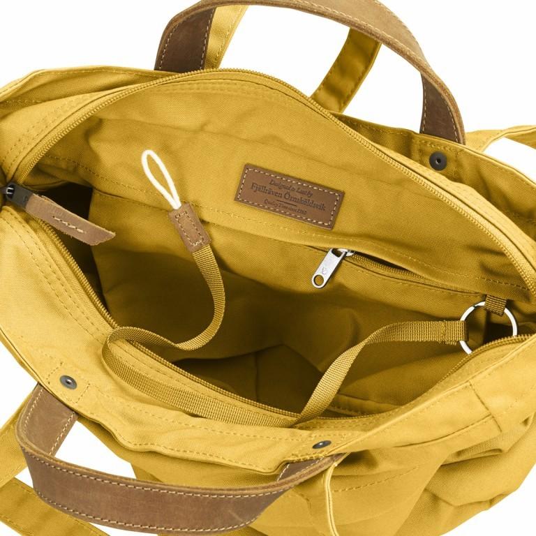 Fjällräven Totepack No.1 Shopper Ochre, Farbe: gelb, Marke: Fjällräven, EAN: 7392158950980, Abmessungen in cm: 39.0x32.0x11.0, Bild 4 von 5
