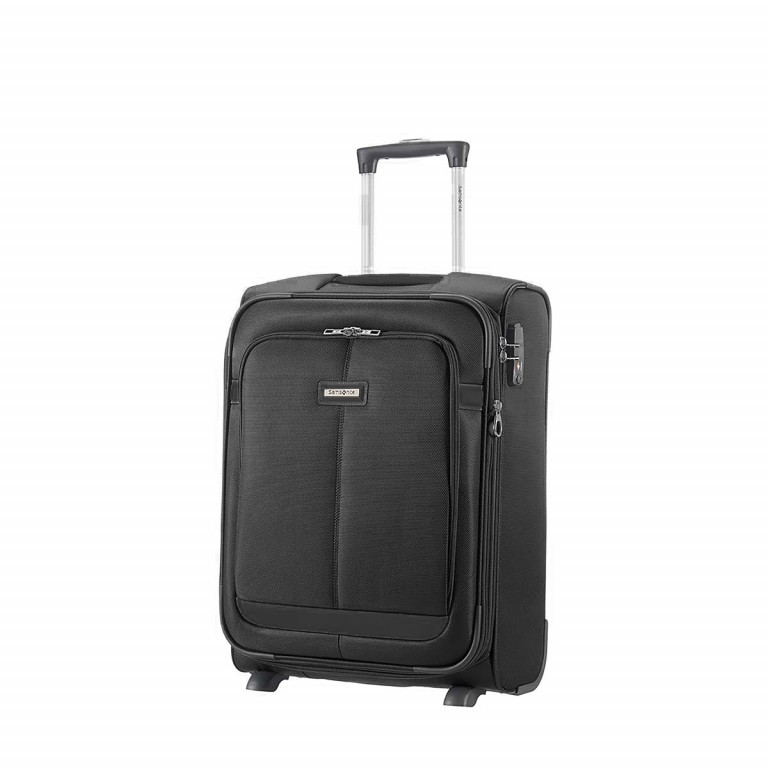 Samsonite NCS Caphir 73831 Upright 55 Black, Farbe: anthrazit, Marke: Samsonite, Abmessungen in cm: 40.0x55.0x20.0, Bild 1 von 7