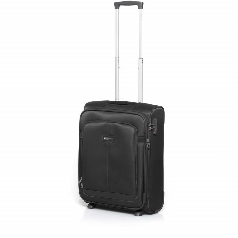 Samsonite NCS Caphir 73831 Upright 55 Black, Farbe: anthrazit, Marke: Samsonite, Abmessungen in cm: 40.0x55.0x20.0, Bild 2 von 7