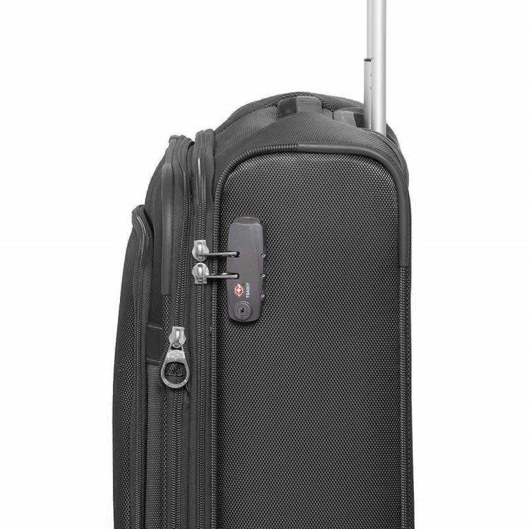 Samsonite NCS Caphir 73831 Upright 55 Black, Farbe: anthrazit, Marke: Samsonite, Abmessungen in cm: 40.0x55.0x20.0, Bild 3 von 7