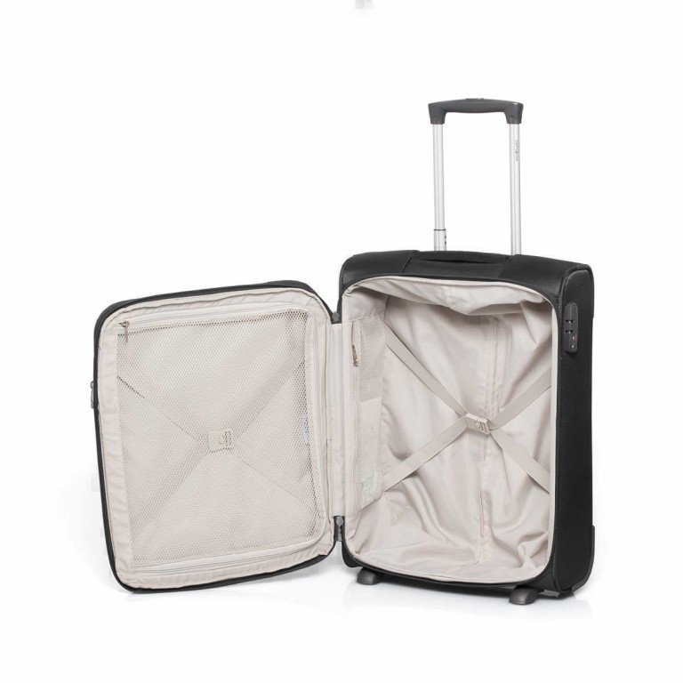 Samsonite NCS Caphir 73831 Upright 55 Black, Farbe: anthrazit, Marke: Samsonite, Abmessungen in cm: 40.0x55.0x20.0, Bild 5 von 7