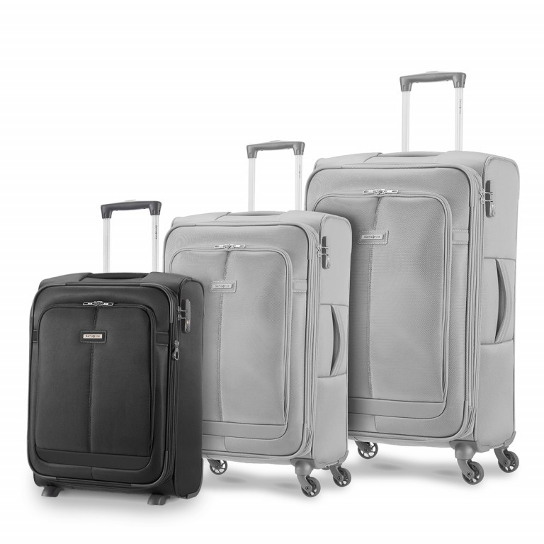 Samsonite NCS Caphir 73831 Upright 55 Black, Farbe: anthrazit, Marke: Samsonite, Abmessungen in cm: 40.0x55.0x20.0, Bild 7 von 7