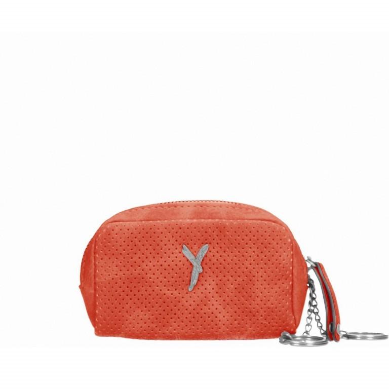 SURI FREY Romy 10716 Schlüsseltasche Orange, Farbe: orange, Marke: Suri Frey, Abmessungen in cm: 10.0x7.0x3.5, Bild 1 von 4