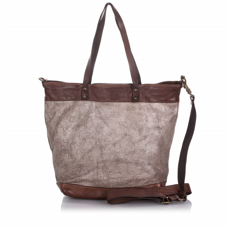 Campomaggi Calla Shopper Leder C4216-VL4TC-1701 Moro, Farbe: braun, Marke: Campomaggi, Abmessungen in cm: 33.0x34.0x16.0, Bild 1 von 4