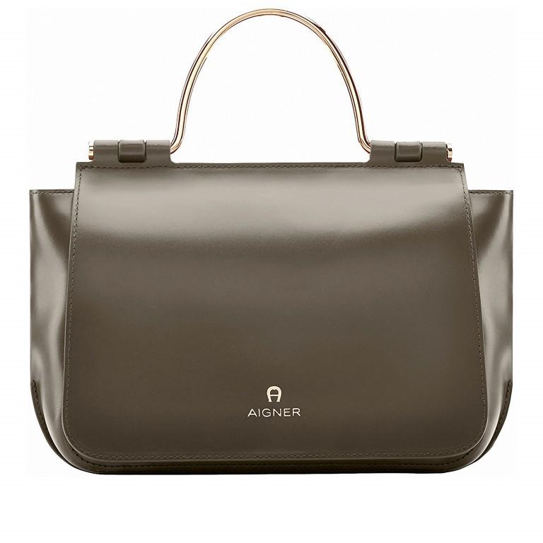 AIGNER Lexi Bag S 132037-601 Olive Green, Farbe: grün/oliv, Marke: Aigner, Abmessungen in cm: 31.0x19.0x8.5, Bild 1 von 3