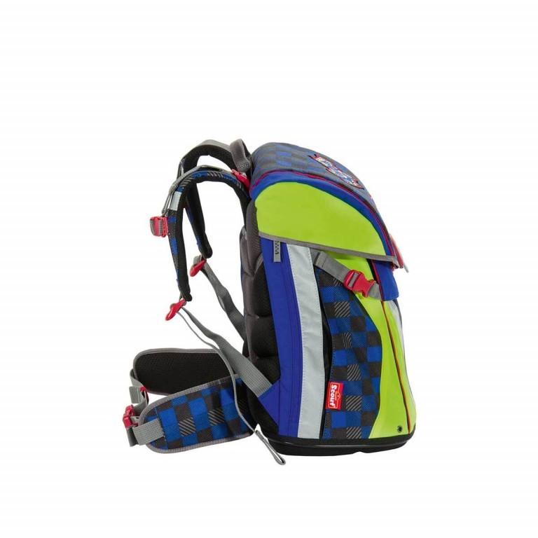 Scout Sunny Set 4-tlg. Runner, Farbe: schwarz, grau, blau/petrol, Marke: Scout, Abmessungen in cm: 30.0x39.0x20.0, Bild 3 von 9