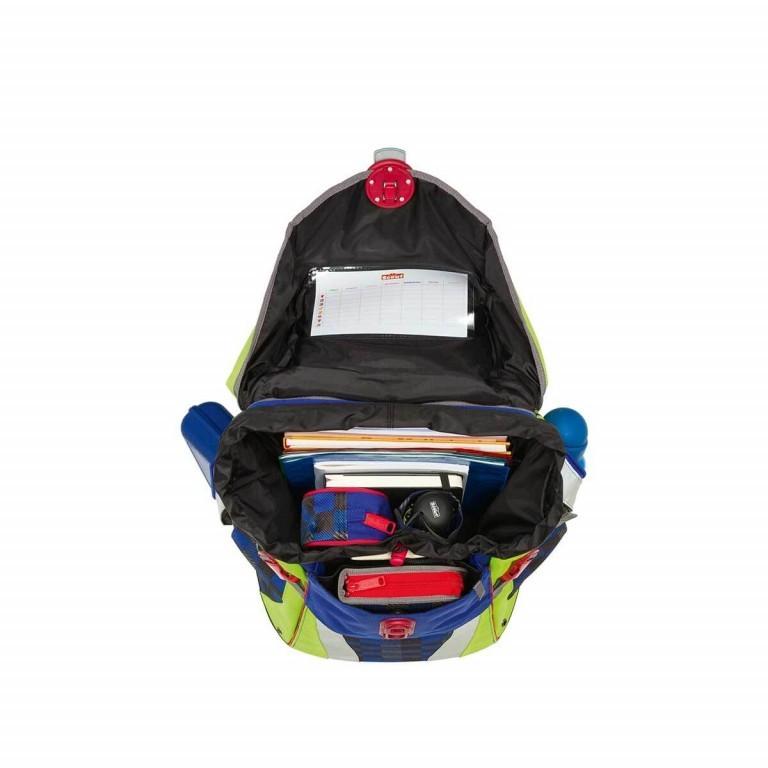Scout Sunny Set 4-tlg. Runner, Farbe: schwarz, grau, blau/petrol, Marke: Scout, Abmessungen in cm: 30.0x39.0x20.0, Bild 5 von 9