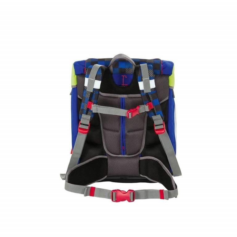 Scout Sunny Set 4-tlg. Runner, Farbe: schwarz, grau, blau/petrol, Marke: Scout, Abmessungen in cm: 30.0x39.0x20.0, Bild 4 von 9