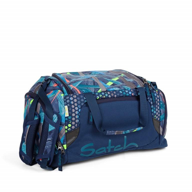 Satch Sporttasche Splashy Lazer, Farbe: blau/petrol, Marke: Satch, EAN: 4057081017973, Abmessungen in cm: 50.0x25.0x25.0, Bild 1 von 1