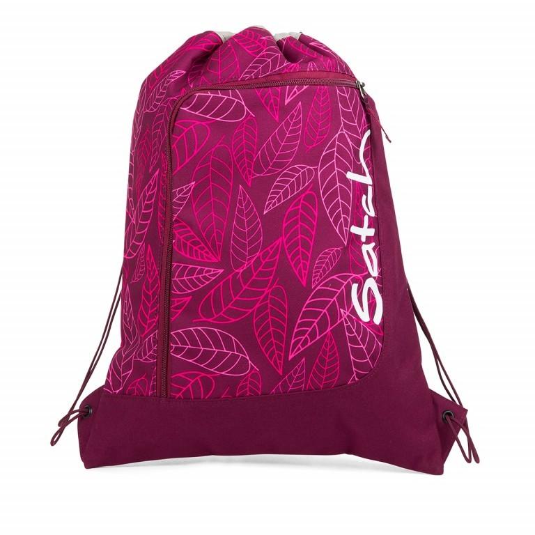 Satch Sportbeutel Purple Leaves, Farbe: flieder/lila, Marke: Satch, EAN: 4057081017935, Abmessungen in cm: 33.0x44.0x1.0, Bild 1 von 1