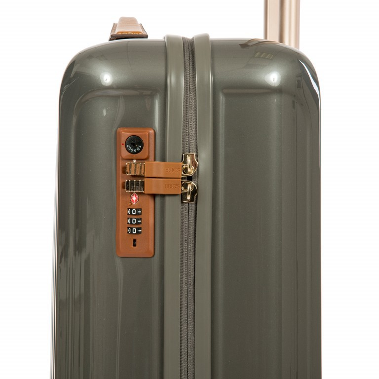 Brics Capri Trolley 4-Rollen 55cm BRK08029-004 Grey, Farbe: grau, Marke: Brics, Abmessungen in cm: 40.0x55.0x20.0, Bild 6 von 11