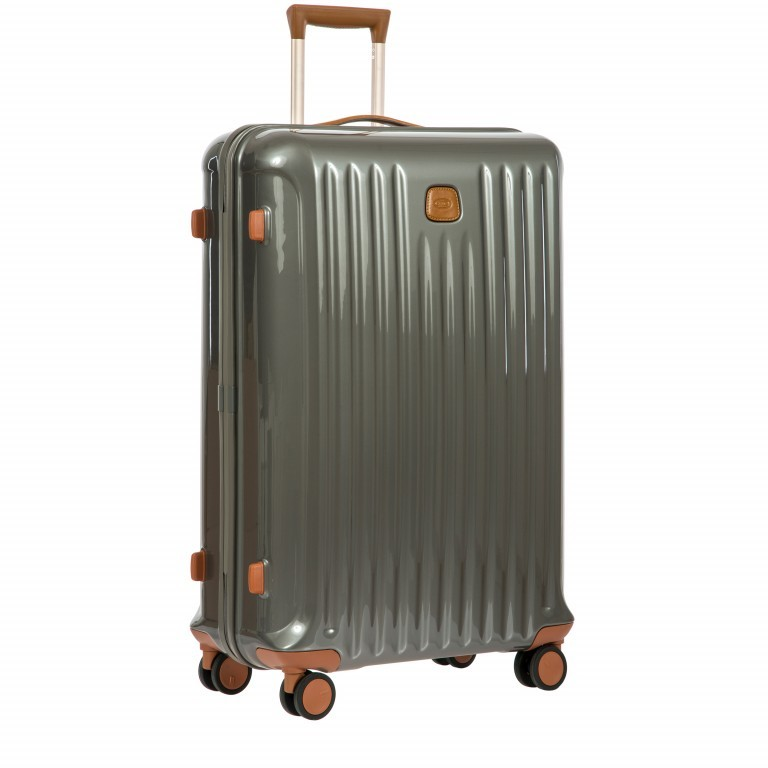 Brics Capri Trolley 4-Rollen 78cm BRK08032-004 Grey, Farbe: grau, Marke: Brics, Abmessungen in cm: 55.0x78.0x31.0, Bild 2 von 12
