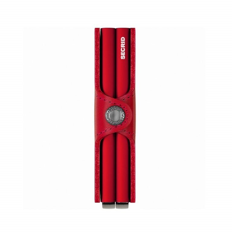 SECRID Twinwallet Red-Red, Farbe: rot/weinrot, Marke: Secrid, EAN: 8718215286004, Abmessungen in cm: 7.0x10.2x2.5, Bild 2 von 4