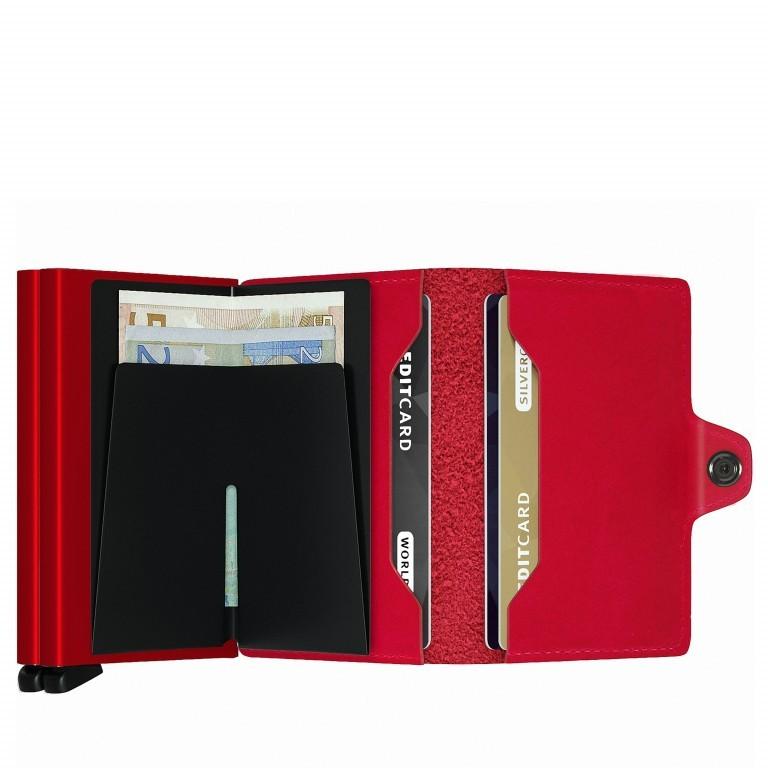 SECRID Twinwallet Red-Red, Farbe: rot/weinrot, Marke: Secrid, EAN: 8718215286004, Abmessungen in cm: 7.0x10.2x2.5, Bild 3 von 4