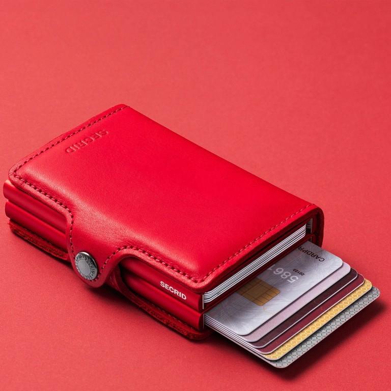 SECRID Twinwallet Red-Red, Farbe: rot/weinrot, Marke: Secrid, EAN: 8718215286004, Abmessungen in cm: 7.0x10.2x2.5, Bild 4 von 4
