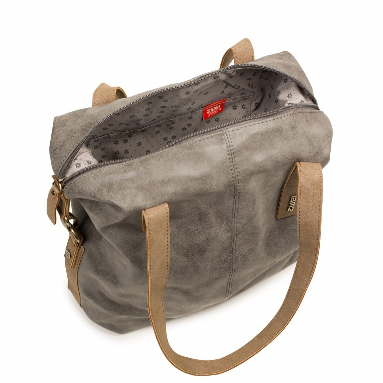 ZWEI CONNY CY12 Grey, Farbe: grau, Marke: Zwei, EAN: 4250257911529, Abmessungen in cm: 30.5x32.0x11.5, Bild 2 von 5