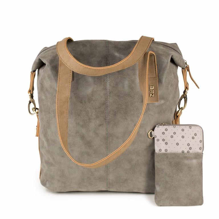 ZWEI CONNY CY12 Grey, Farbe: grau, Marke: Zwei, EAN: 4250257911529, Abmessungen in cm: 30.5x32.0x11.5, Bild 5 von 5