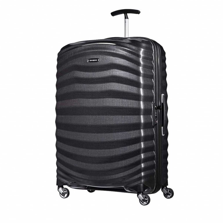 Samsonite Lite-Shock 62766 Spinner 75 Black, Farbe: schwarz, Manufacturer: Samsonite, Dimensions (cm): 51.5x75.0x31.0, Image 1 of 1