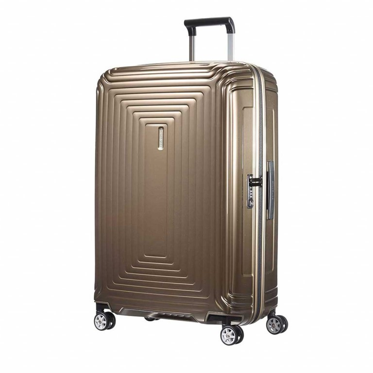 Samsonite Koffer/Trolley Neopulse 65754 Spinner 75 Metallic Sand, Farbe: braun, Marke: Samsonite, EAN: 5414847565748, Abmessungen in cm: 51.0x75.0x28.0, Bild 1 von 10