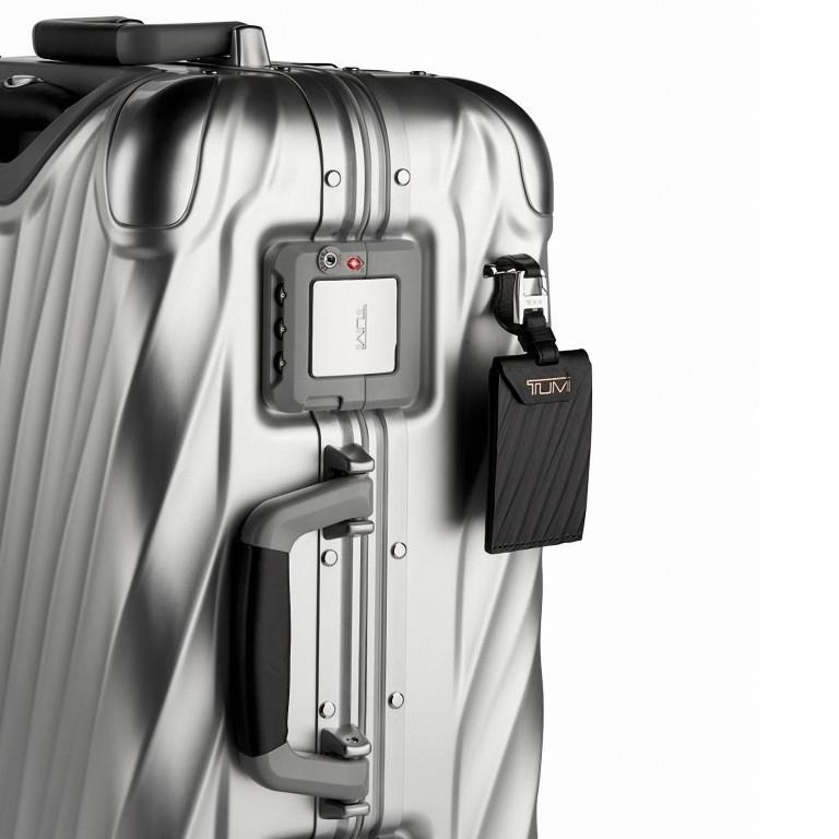 Tumi 19 Degree International Carry On 56cm 4Rollen Texture Silver, Farbe: grau, Marke: Tumi, EAN: 742315534688, Abmessungen in cm: 35.5x56.0x23.0, Bild 6 von 6