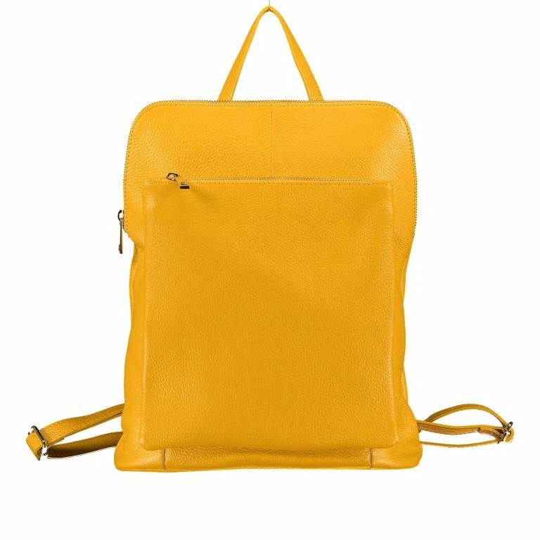 Hausfelder Rucksack Tasche I-DD-232532.D04 Gelb, Farbe: gelb, Marke: Hausfelder, EAN: 4065646002937, Abmessungen in cm: 29.0x38.0x11.0, Bild 1 von 7