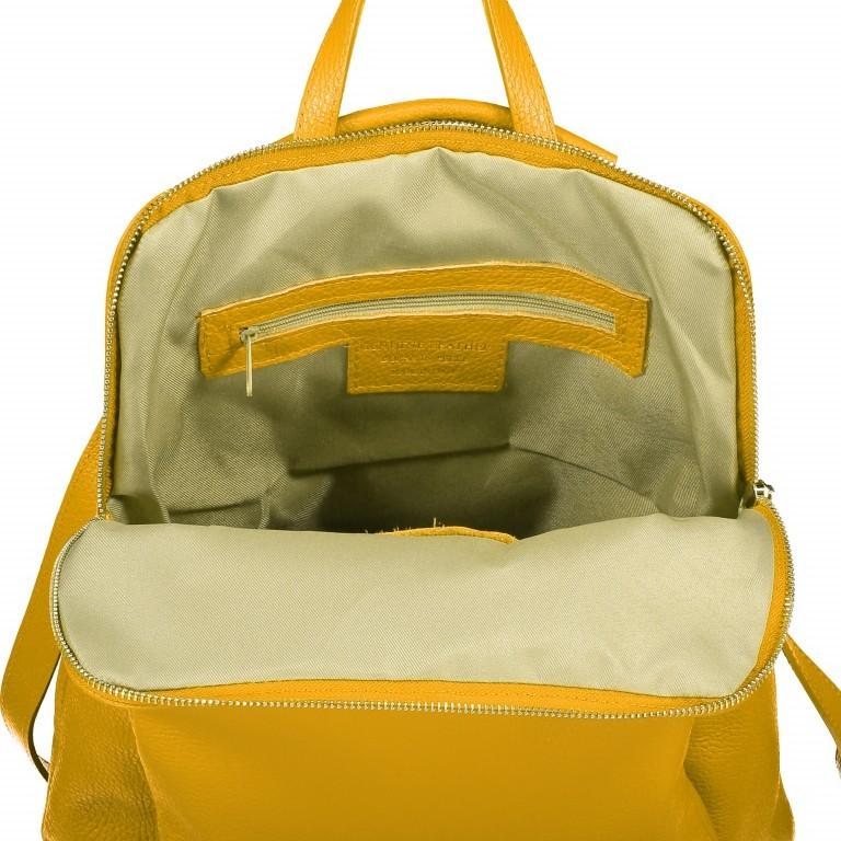 Hausfelder Rucksack Tasche I-DD-232532.D04 Gelb, Farbe: gelb, Marke: Hausfelder, EAN: 4065646002937, Abmessungen in cm: 29.0x38.0x11.0, Bild 7 von 7