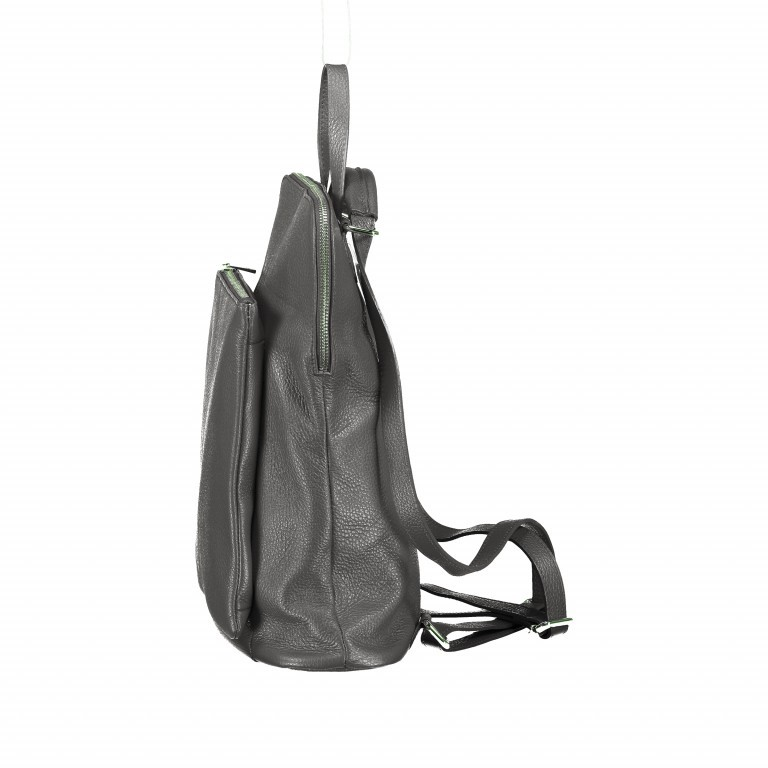 Hausfelder Rucksack Tasche I-DD-232532.D77 Grau, Farbe: grau, Marke: Hausfelder, EAN: 4065646002913, Abmessungen in cm: 29.0x38.0x11.0, Bild 3 von 6