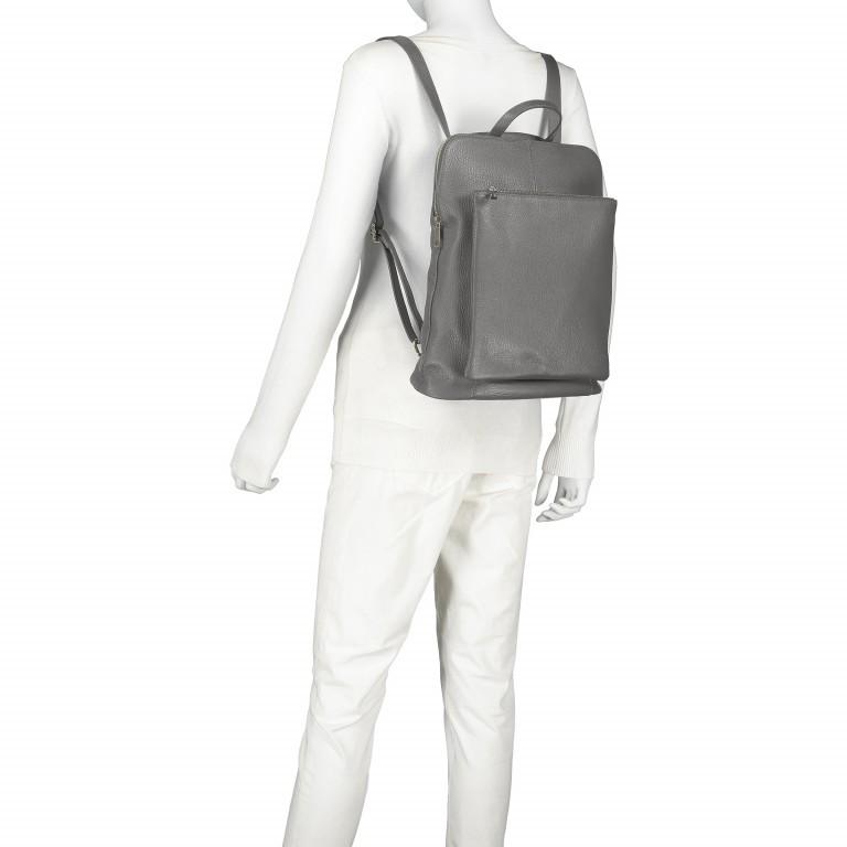 Hausfelder Rucksack Tasche I-DD-232532.D77 Grau, Farbe: grau, Marke: Hausfelder, EAN: 4065646002913, Abmessungen in cm: 29.0x38.0x11.0, Bild 5 von 6