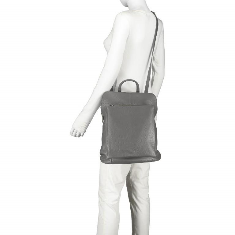 Hausfelder Rucksack Tasche I-DD-232532.D77 Grau, Farbe: grau, Marke: Hausfelder, EAN: 4065646002913, Abmessungen in cm: 29.0x38.0x11.0, Bild 6 von 6