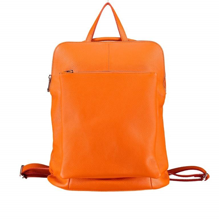 Hausfelder Rucksack Tasche I-DD-232532.D29 Orange, Farbe: orange, Marke: Hausfelder, EAN: 4065646003002, Abmessungen in cm: 29.0x38.0x11.0, Bild 1 von 7