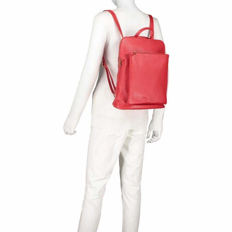 Hausfelder Rucksack Tasche I-DD-232532.D29 Orange, Farbe: orange, Marke: Hausfelder, EAN: 4065646003002, Abmessungen in cm: 29.0x38.0x11.0, Bild 4 von 7